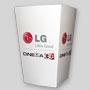 Petite boîte à popcorn personnalisée en carton. LG