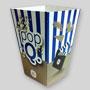 Petite boîte à popcorn personnalisée en carton. GE Healthcare France