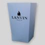 Petite boîte à popcorn personnalisée en carton. Lanvin Paris