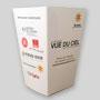 Petite boîte à popcorn personnalisée en carton. Office Suisse du tourisme