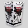 Petite boîte à popcorn personnalisée en carton. Les 2 Alpes, Light On MTB Film Series