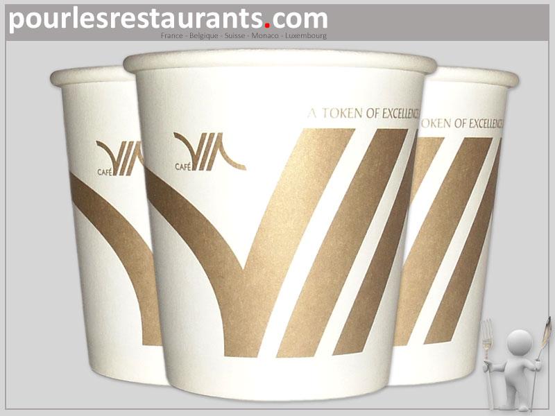 Préférence Petit gobelets personnalisés de 10cl pour un café expresso. BW81