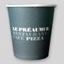 Gobelet en carton personnalisé pour le café, l'espresso