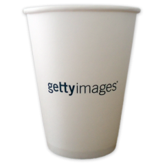 gobelet personnalisé en carton 8oz (2 couleurs Maxi.)