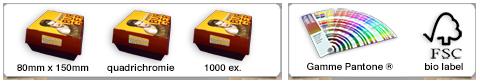 Boîtes à burger/nuggets personnalisées Américaines