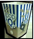boite à popcorn petit format