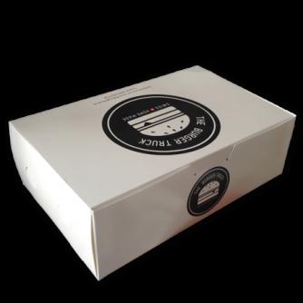 Boîte pour hamburger personnalisée, The Burger Truck