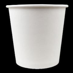 Lot de 100 gobelets en carton blanc de 10 cl pour café expresso