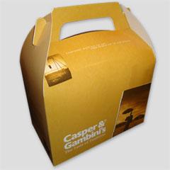 boîte déjeuner, lunch box en carton