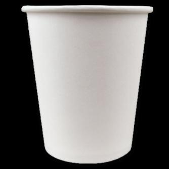 gobelet café latté 18cl en carton blanc