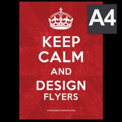 Flyers format A4 (210 x 297)