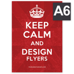 Flyers format A6 (105 x 148)