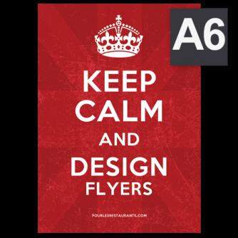 Prospectus, Flyers format A6