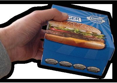 Boite Hamburger spécial Food Truck