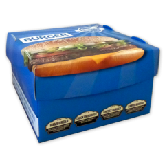 Boîte pour Hamburger «Flower Burger»