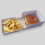 Boîte hamburger spéciale Take Away