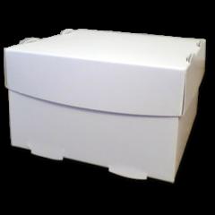 Boîte pour Hamburger «Flower Burger» en carton blanc
